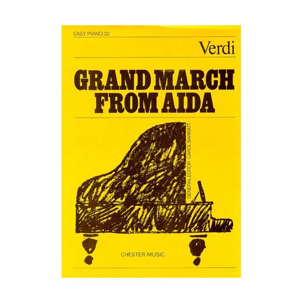 Grand March From Aida (Easy Piano No.32) - Verdi, Giuseppe (Artist)