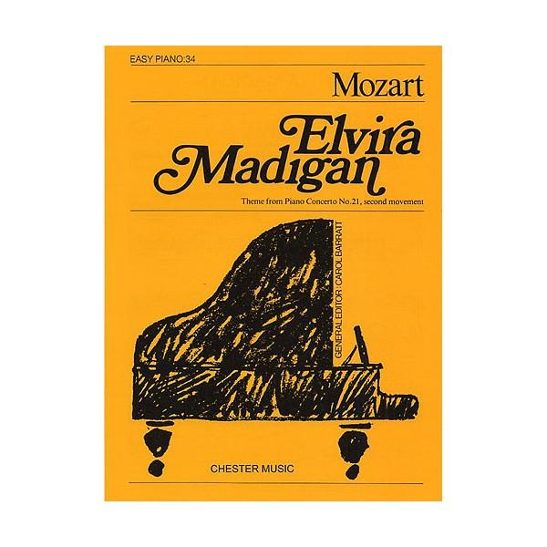 ElviraMadigan (Easy Piano No.34) - Mozart, Wolfgang Amadeus (Artist)