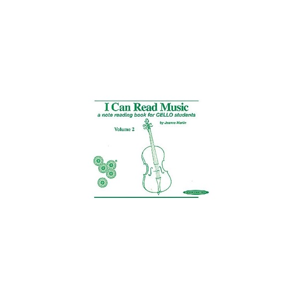 Suzuki - I Can Read Music - A note reading book for CELLO students