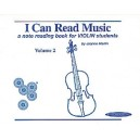 Suzuki - I Can Read Music - A note reading book for VIOLIN students