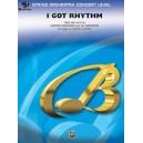 Gershwin, G, arr. Custer, C - I Got Rhythm