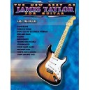 Taylor, James - The New Best Of James Taylor For Guitar - Easy TAB Deluxe