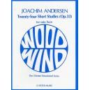 Joachim Andersen: Twenty-Four Short Studies Op.33 For Flute Solo - Andersen, Joachim (Artist)
