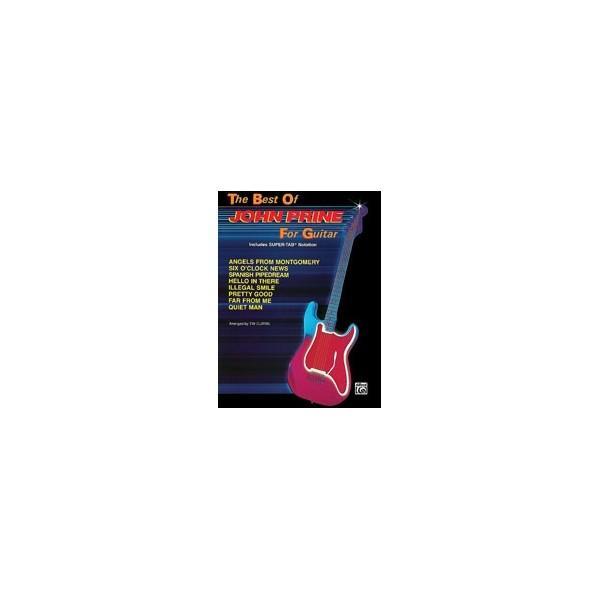 Prine, John - The Best Of John Prine For Guitar - Includes Super TAB Notation