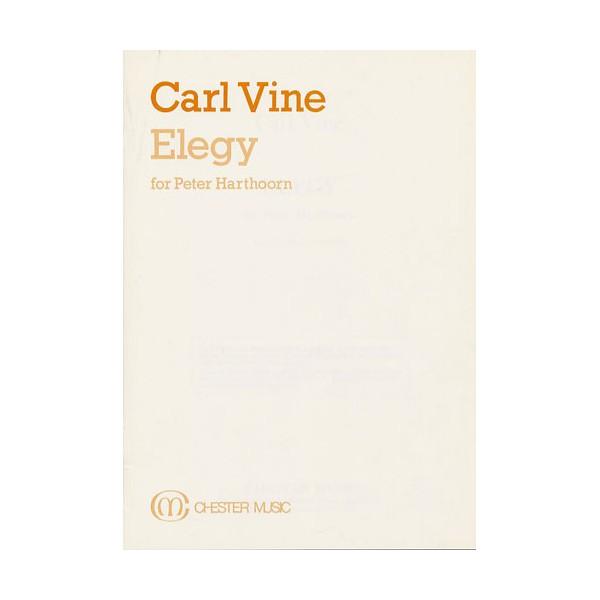 Carl Vine: Elegy (Study Score) - Vine, Carl (Artist)