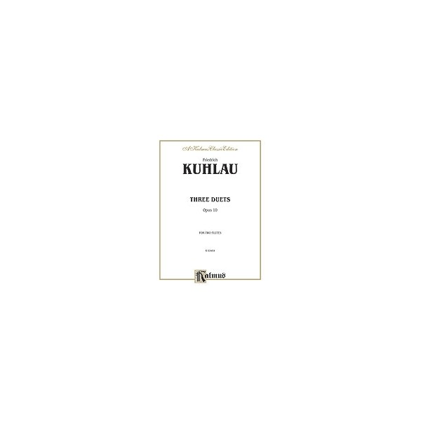Kuhlau - Three Duets For Two Flutes, Op. 10