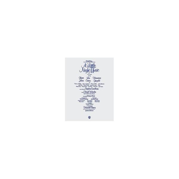 Sondheim, Stephen - A Little Night Music (vocal Score) - Piano/Vocal