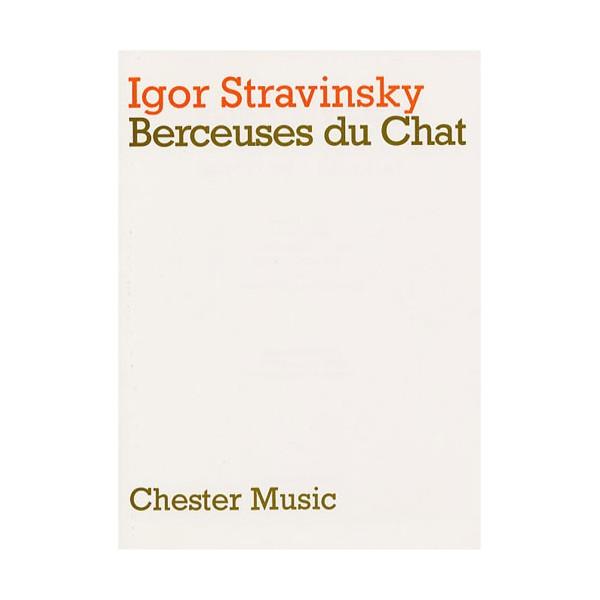 Igor Stravinsky: Berceuses Du Chat (Miniature Score) - Stravinsky, Igor (Artist)