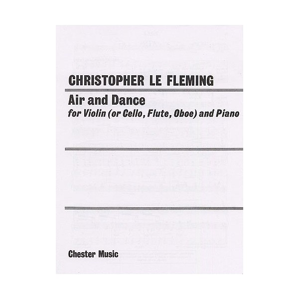 Christopher Le Fleming: Air And Dance (Treble Clef) - Le Fleming, Christopher (Composer)