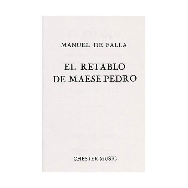 De Falla:  El Retablo De Maese Pedro (English Edition) - De Falla, Manuel (Artist)
