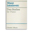 Witold Lutoslawski: Two Studies For Piano - Lutoslawski, Witold (Artist)