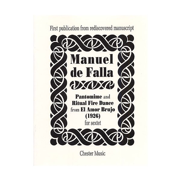 De Falla: Pantomime And Ritual Fire Dance - De Falla, Manuel (Composer)