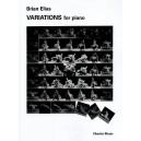 Brian Elias: Variations For Piano - Elias, Brian (Artist)