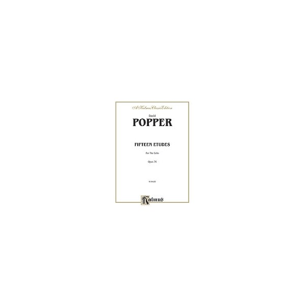 Popper - Fifteen Etudes For Cello, Op. 76