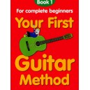 Your First Guitar Method:book 1 - Thompson, Mary (Author)