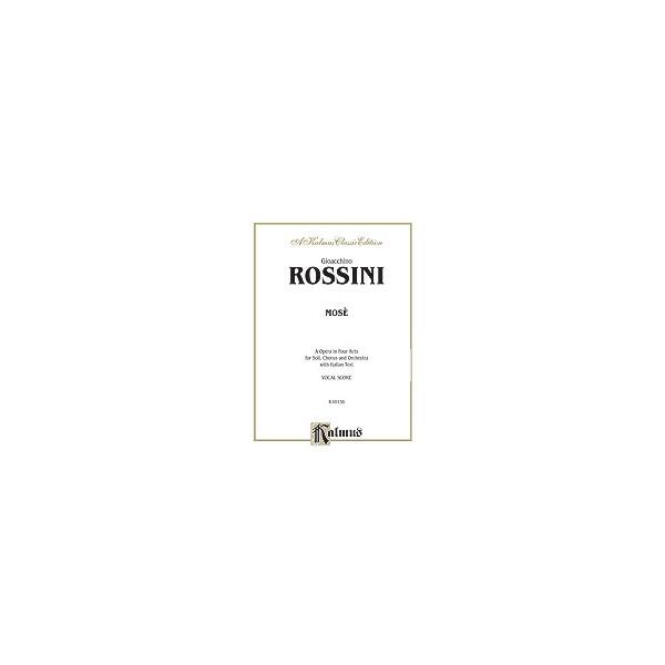 Mose - Vocal Score (Italian Language Edition)