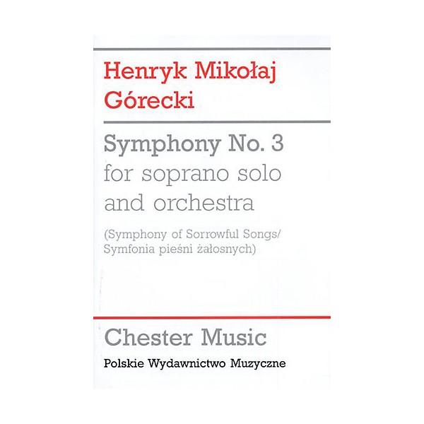 Henryk Gorecki: Symphony No.3 (Symphony of Sorrowful Songs) - Study Score - Górecki, Henryk Mikolaj (Artist)