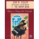 Schaum, John W. - John W. Schaum Piano Course - F -- The Brown Book
