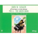 Schaum, John W. - John W. Schaum Piano Course - Pre-A -- The Green Book