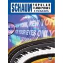 Schaum, John W,  - John W. Schaum Popular Piano Pieces - B -- The Blue Book