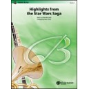 Williams, J, arr. Cook, P - Star Wars® Saga, Highlights From The