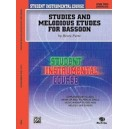 Student Instrumental Course Studies And Melodious Etudes For Bassoon - Level II