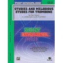 Student Instrumental Course Studies And Melodious Etudes For Trombone - Level I