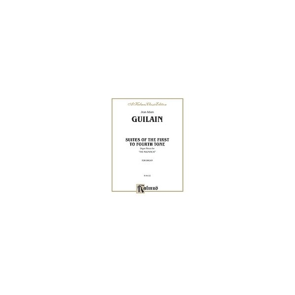 Guilain, Jean Adam - Suites Of The 1st To 4th Tone
