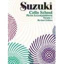 Suzuki Cello School - Piano Acc. Volume One