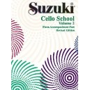 Suzuki Cello School - Piano Acc. Vol.2