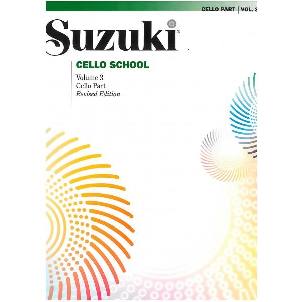 Suzuki - Cello School 3 (Part Only)