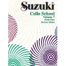 Suzuki - Suzuki Cello School - Cello Part Vol 7