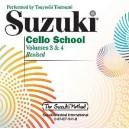 Tsutsumi, Tsuyoshi - Suzuki Cello School CD Vol 3 & 4