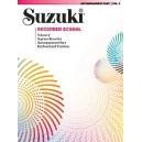 Suzuki - Suzuki Recorder School (soprano Recorder) - Acc.