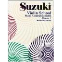 Suzuki - Violin School Vol. 1 Piano Acc. revised ed.