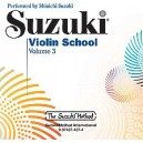 Suzuki - Violin School Vol.3 CD