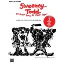 Sondheim, Stephen - Sweeney Todd (the Demon Barber Of Fleet Street) (vocal Selections) - Piano/Vocal