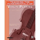 Teaching The Fundamentals Of Violin Playing