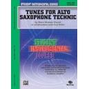 Student Instrumental Course Tunes For Alto Saxophone Technic - Level I