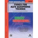Student Instrumental Course Tunes For Alto Saxophone Technic - Level II