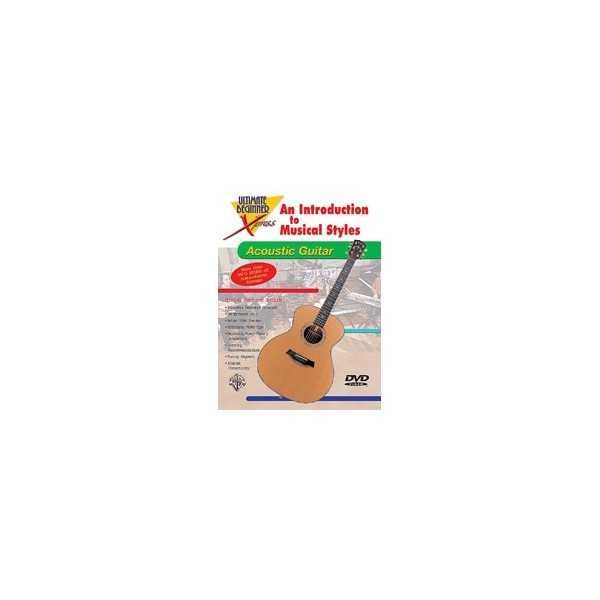 Ultimate Beginner Xpress An Introduction To Musical Styles For Acoustic Guitar