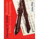 Recorder Duets From The Beginning: Descant And Treble Pupils Book - Pitts, John (Author)