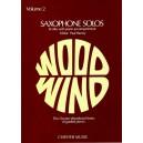 Saxophone Solos Volume 2 E Flat Alto Saxophone