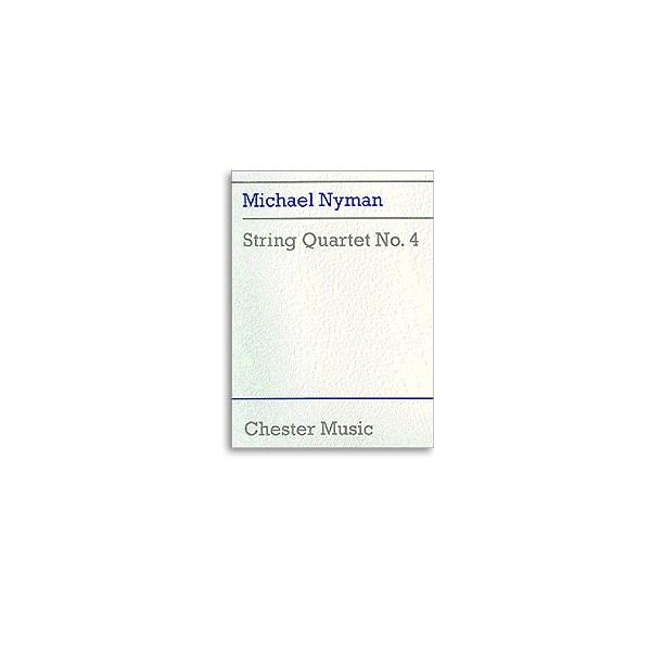 Nyman, Michael - String Quartet No. 4 (Score)