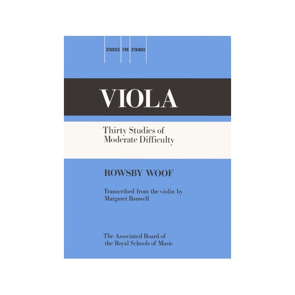 WOOF 30 STUDIES OF MODERATE DIFFICULTY Violin