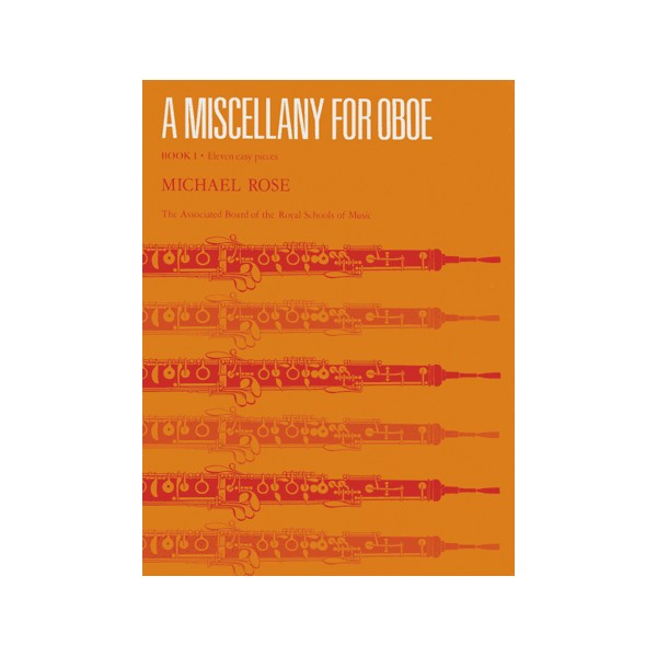 A Miscellany for Oboe  Book I