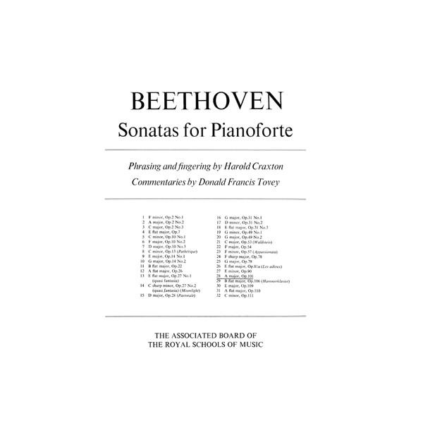 Piano Sonata in A  Op. 101