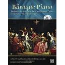 Nancy Bachus - The Baroque Piano. Book & CD