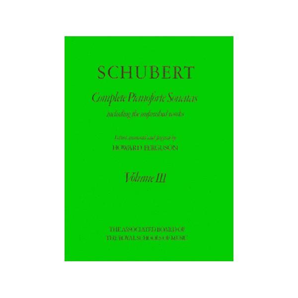Complete Pianoforte Sonatas  Volume III