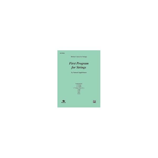 Applebaum, Samuel - First Program For Strings, Level 1